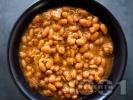 Рецепта Класическа боб яхния от зрял (стар) бял фасул в тенджера със запръжка